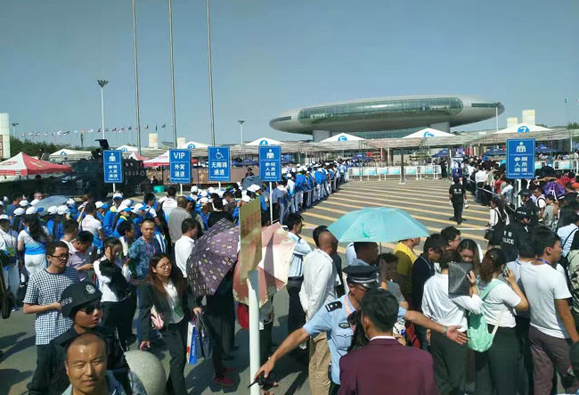 西安银马智能机械参展第五届中国—亚欧博览会
