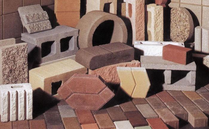 多功能砌块成型机厂家带您走进丰富多彩的砖机制品世界(图集)