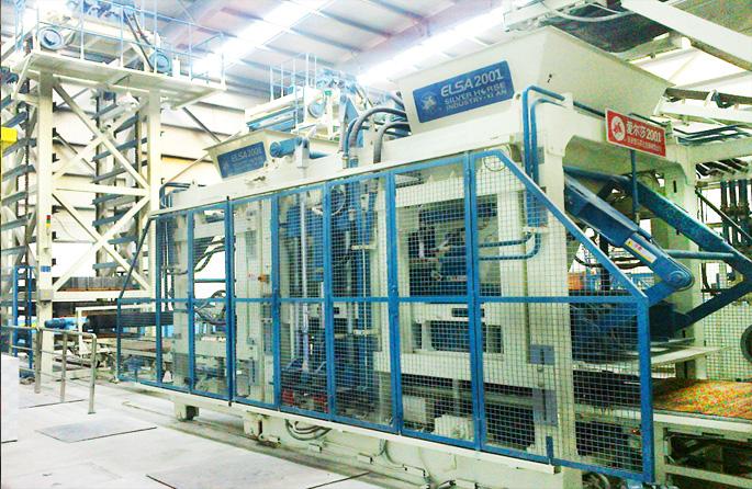 全自动免烧砖生产机械设备的数据处理