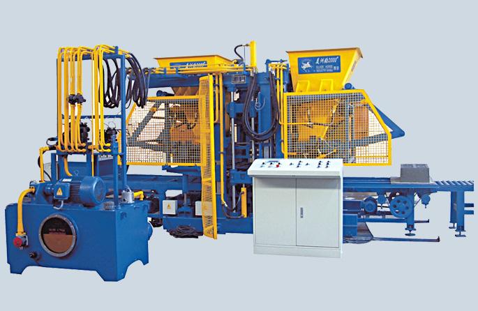 实例:原点建材引进全自动免烧砖机生产线