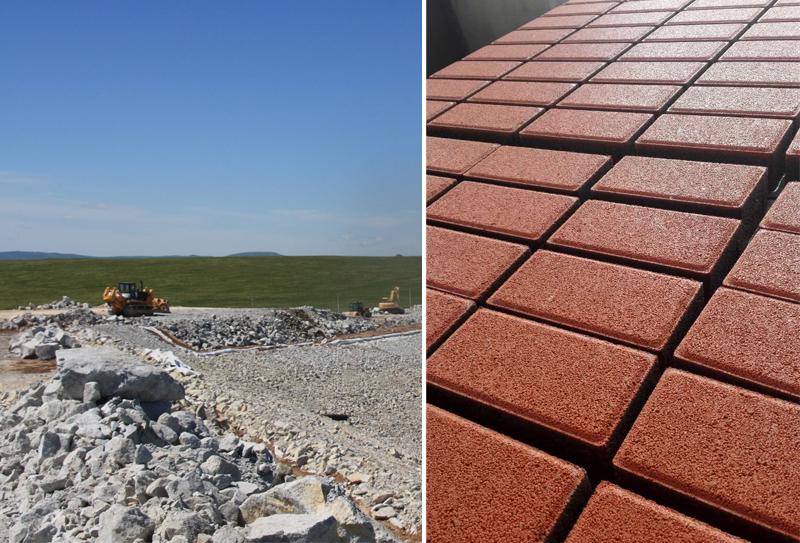 尾矿渣制砖机绿色环保得到大力推广