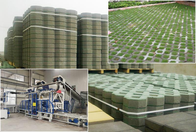 植草砖制砖机技术水平优势分析