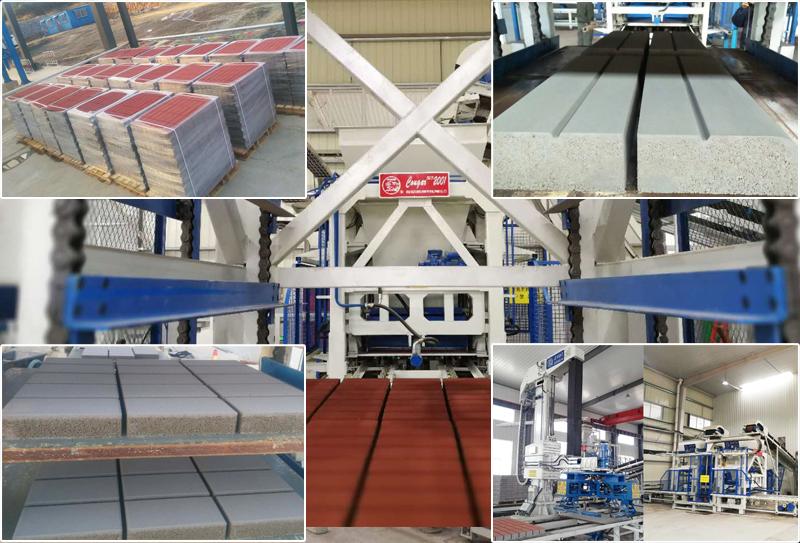 水泥砖制砖设备生产的制品用途有哪些?
