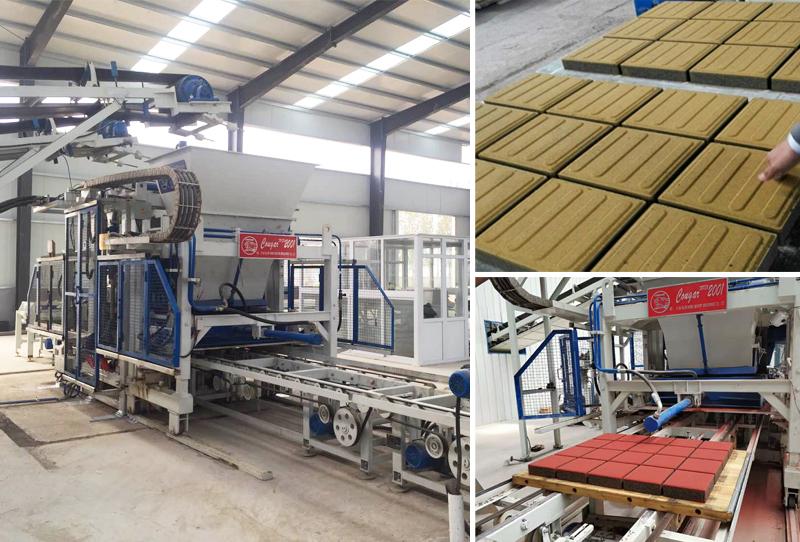 全自动制砖生产线走可持续的发展道路迎来广阔市场