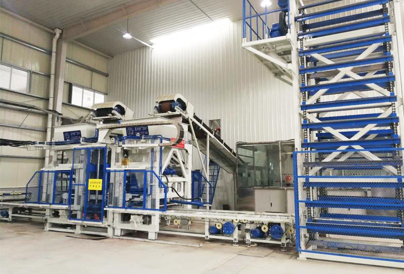 全自动砖机生产设备的十条操作规范