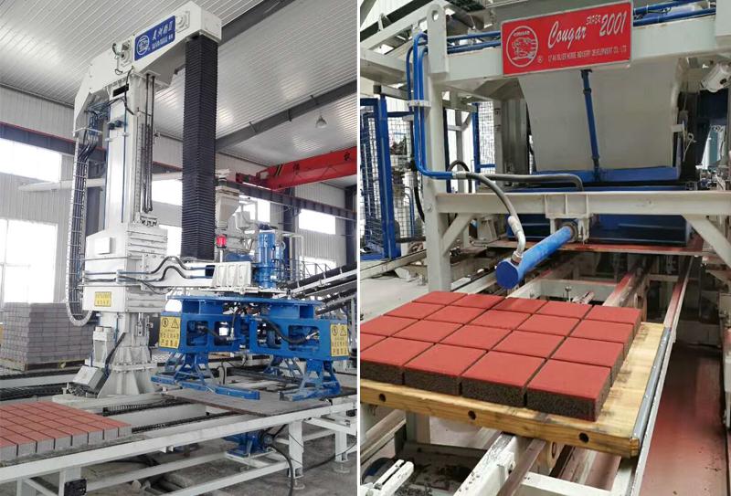 全自动砖机生产设备注意这五点才保证能产出高强度的制品