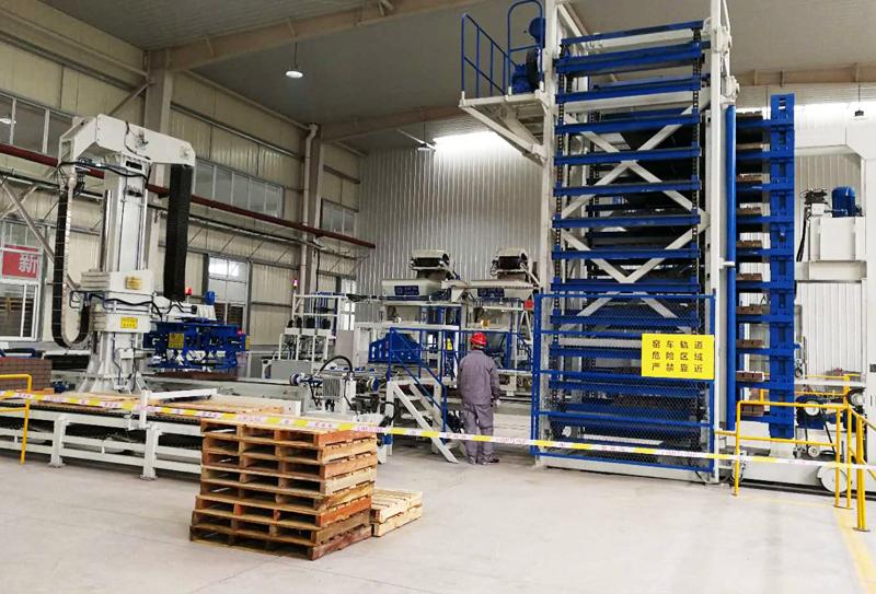 透水砖设备厂家关于砖机托板的使用处理建议
