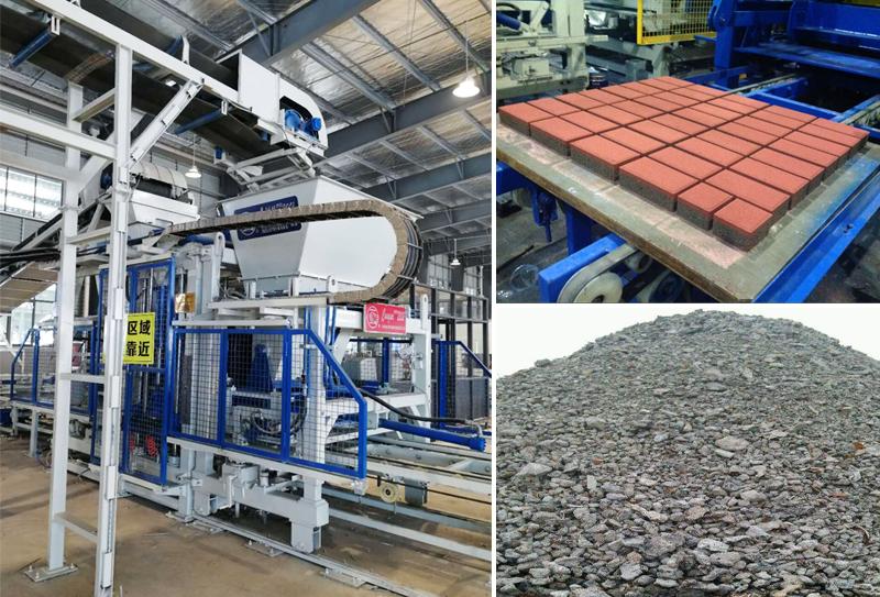 钢渣制砖机在技术上不断的创新突破