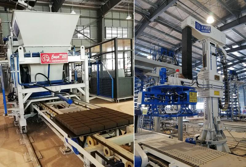 环保节能的环境发展趋势带动全自动水泥砖设备的发展