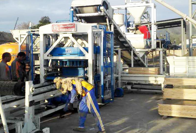 银马造砖机器磨损经常出现在什么部位?