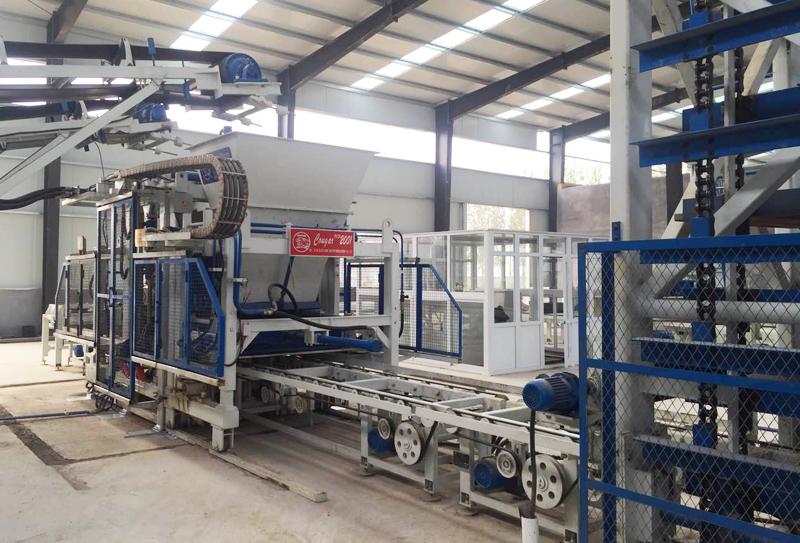 尾矿渣制砖生产线主要设备及工艺流程