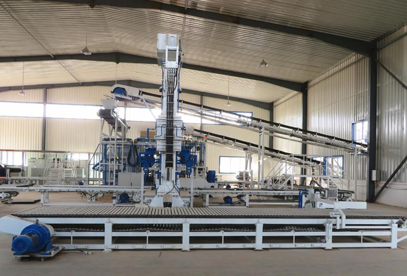 银马工业废渣制砖机成为建材行业企业投资选择