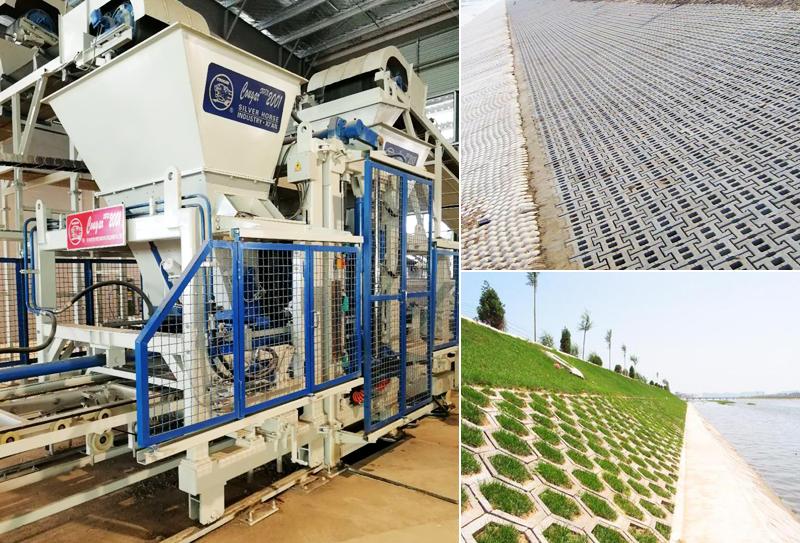 河堤护坡砖机:河堤生态的重要性