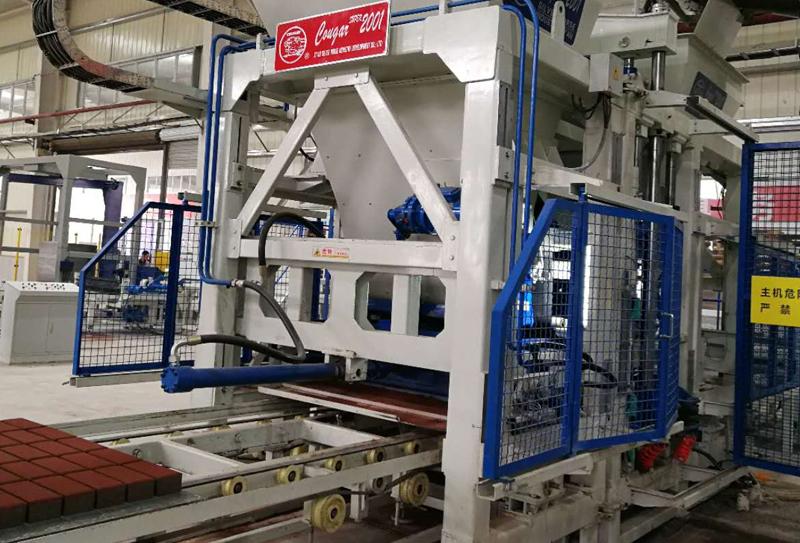 透水砖生产线设备绿色发展新动力