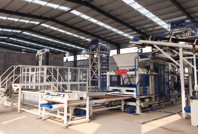 生态透水砖设备:蓝天保卫战对我国相关产业的影响