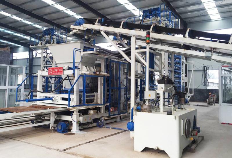 水泥砖生产线液压系统元件组成及功能说明