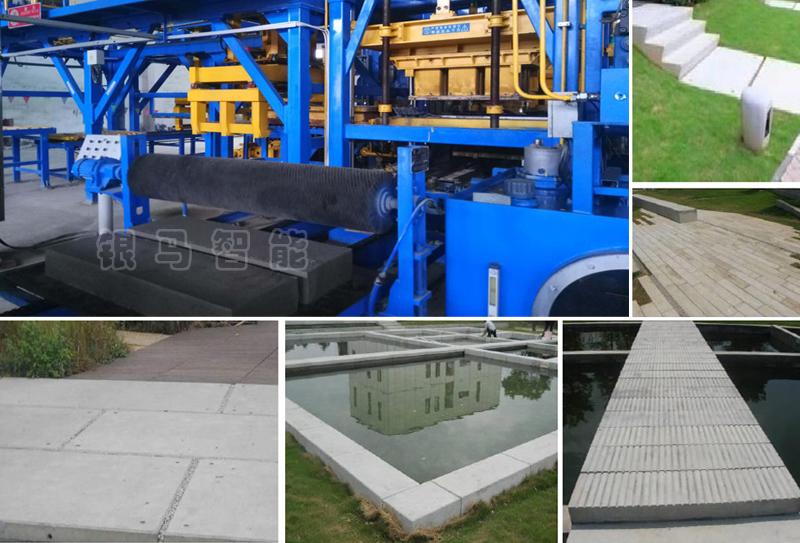 西安银马PC仿石材砖生产线制品性能特点