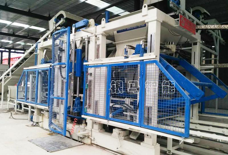 海绵透水砖生产线:科技能够为工业生产提供新鲜血液!