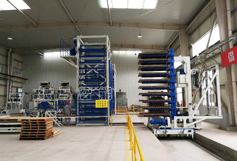 银马免烧砖砖机生产线优势和突出特点