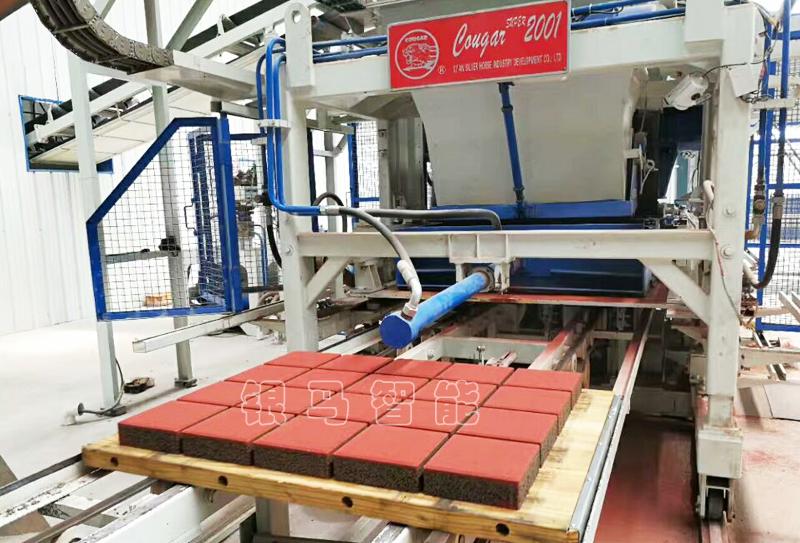 透水砖机设备制砖原料配比事项及工艺要求