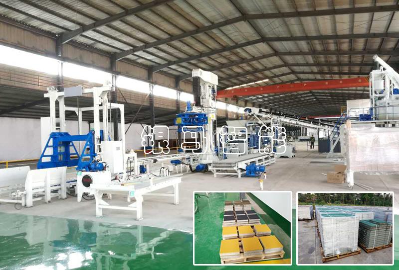 透水砖机生产线砖制品出现问题与哪些因素有关?