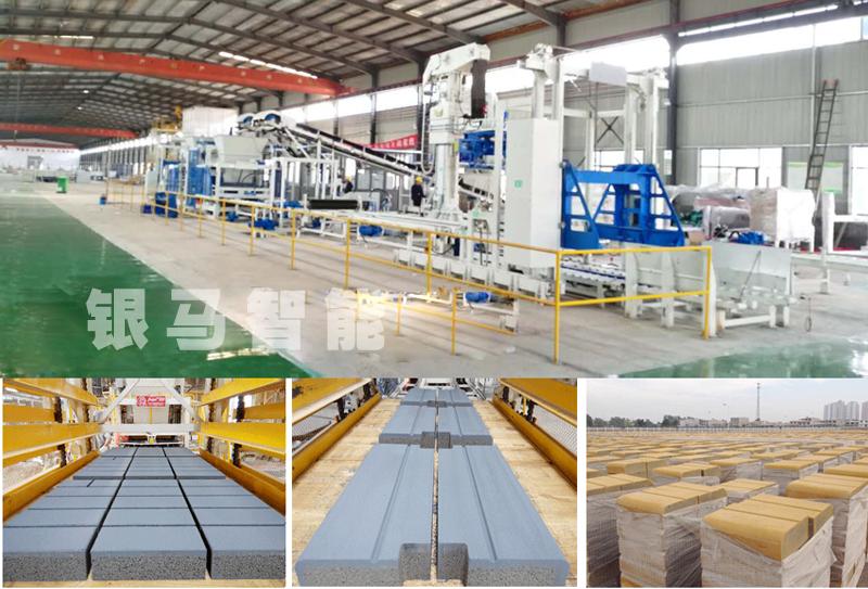 透水砖广场砖设备砖制品配方问题及操作流程