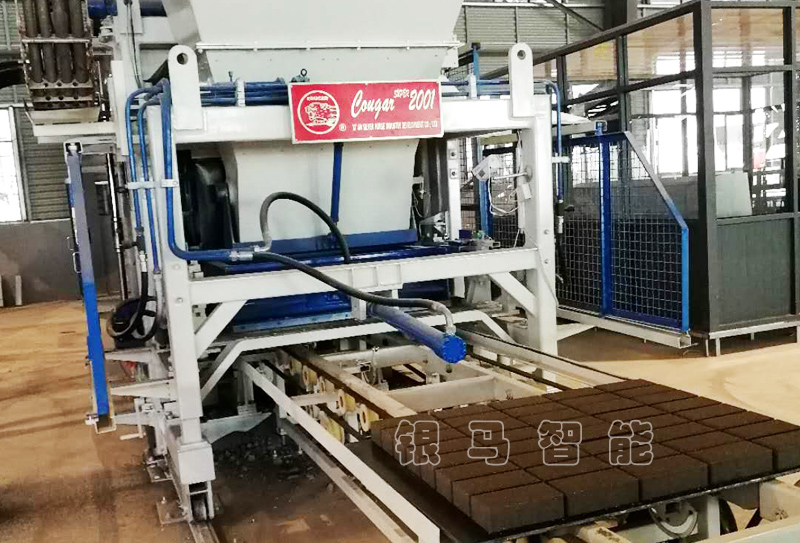 工业废渣制砖机设备松动故障如何解决?