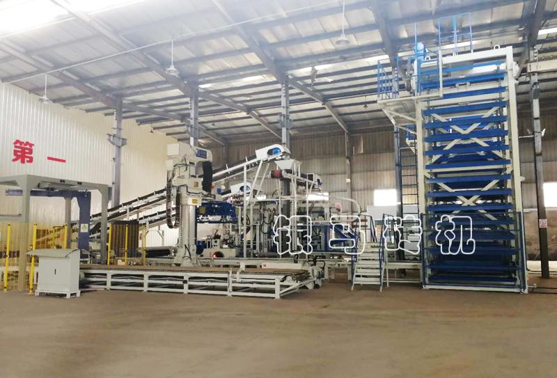自动化制砖生产设备免烧砖机的托板材质问题及应用