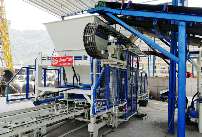 建筑垃圾制砖机生产线液压系统失衡处理方案及主机操作事项