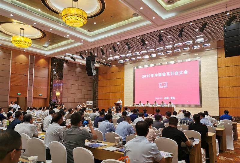 2019年中国砖瓦行业大会圆满落幕,银马环保砖/石一体机备受瞩目!