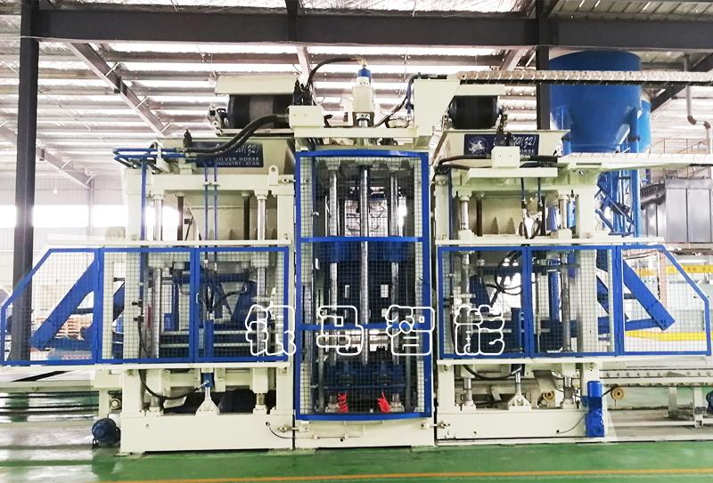 彩色路沿石生产设备:透水砖机高温处理方法及电机的安装步骤