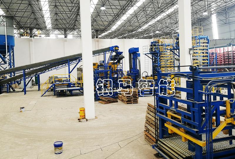 尾矿渣制砖机:透水砖机工艺和技术的提升源自于什么?