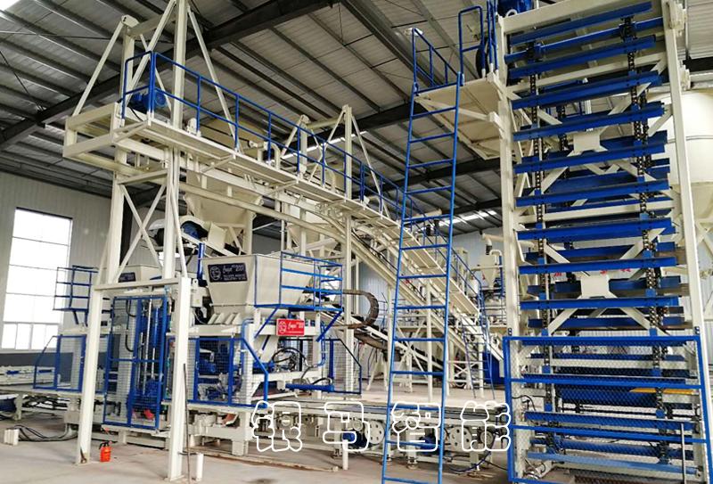透水砖机生产线正常运转的操作方法及使用前的检查细节