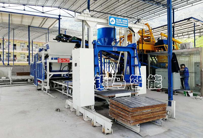 便道砖生产设备:免烧砖机转型升级的目标是价值定位!