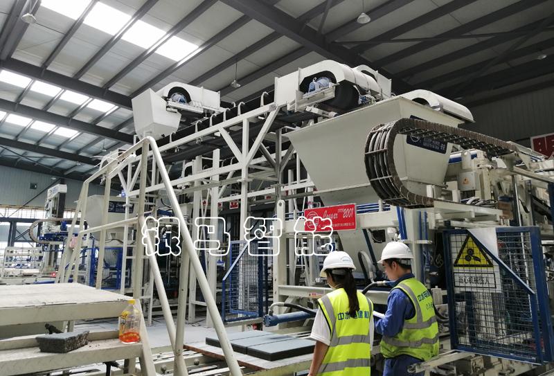 便道砖生产设备:砌块砖机液压系统元件质量检查及其影响!
