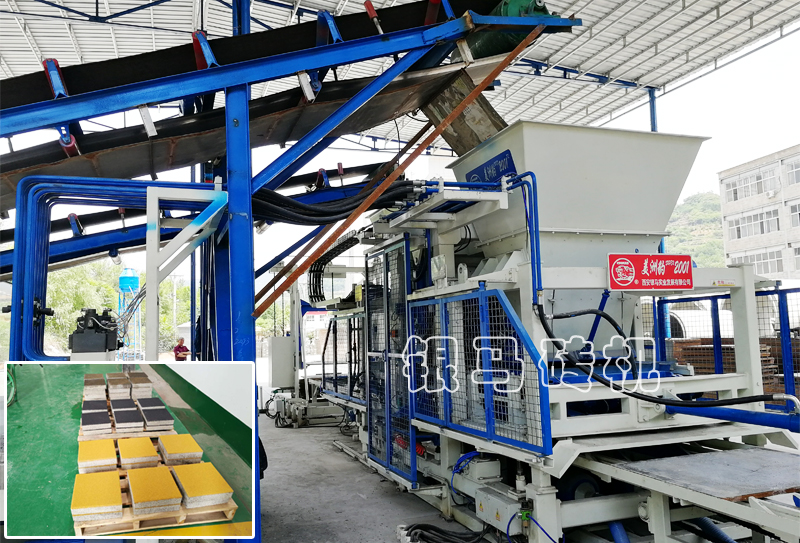 砖石机成套设备:透水砖机2020年陕西投资投资5014亿为民谋福利!