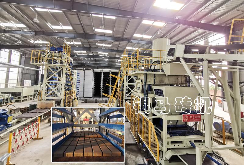 免烧砖制砖设备:砌块砖机制造企业怎样保证自己的生产效率?