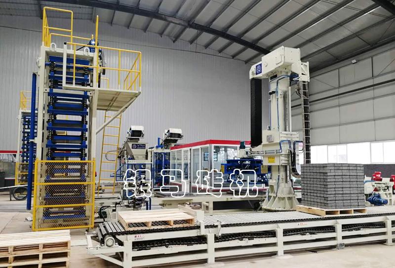 全自动标砖生产线:空心砖机让尾矿变砖,拥有自己的价值!