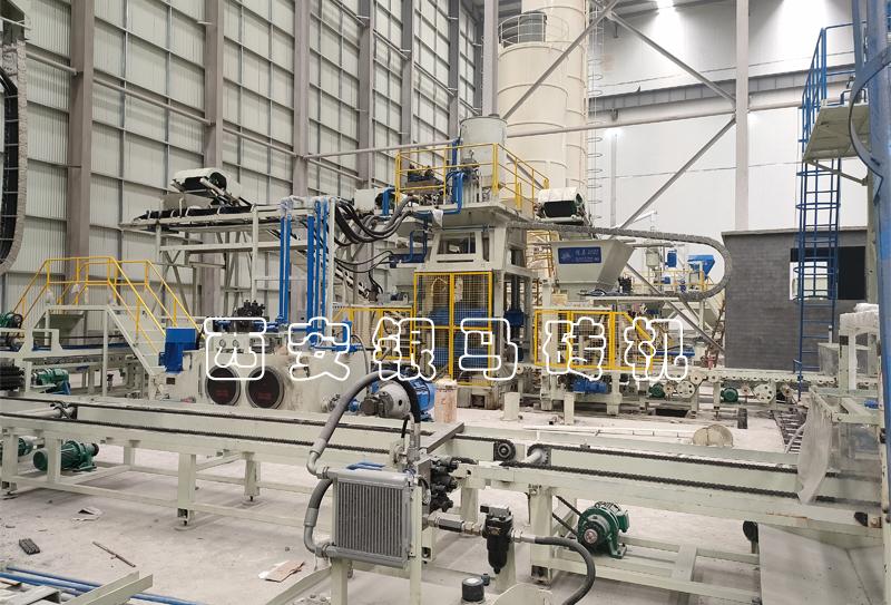多功能制红砖机:金沙9001mm平台自动化生产线功能与制品应用