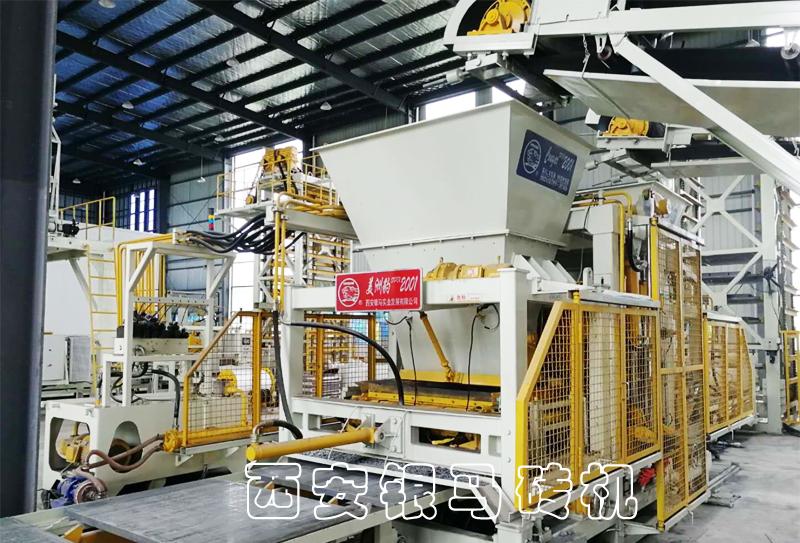 全自动新型红砖机:金沙9001mm平台工业固废全兼容,距离生态更进一步!