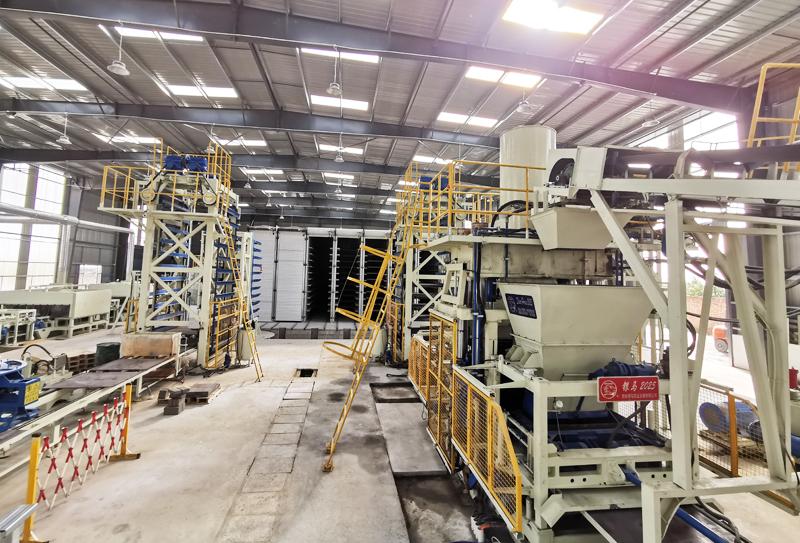"""废渣制红砖机器:西安金沙砌块红砖机的""""四核""""动力!"""