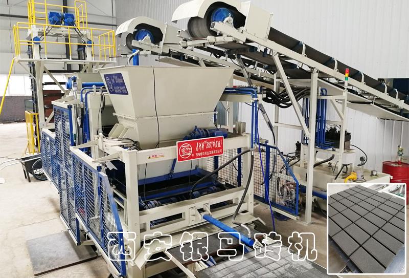 砌块砖机生产线设备:产品与服务是助力用户华丽变身的根本!