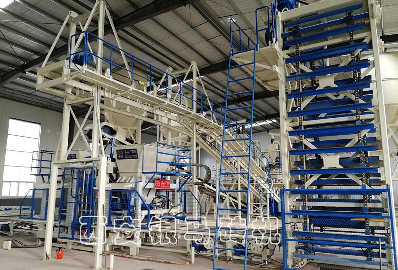 全自动大型制砖设备:砌块砖机让绿色生产成为砖企本能!