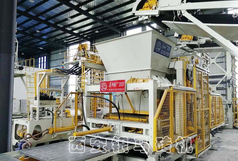 免烧全自动大型制砖设备:银马拥有与国际品牌角逐的实力!
