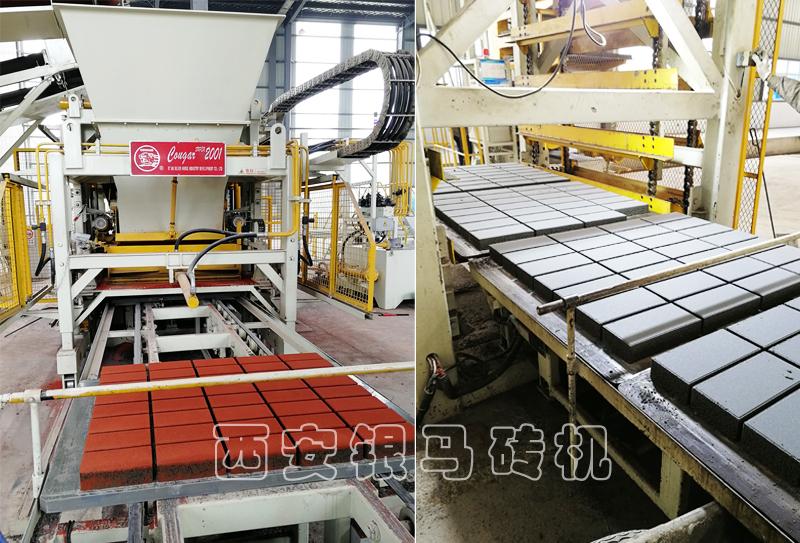 免烧砖机生产线设备:产品创新,砖/石一体实现效益合一!