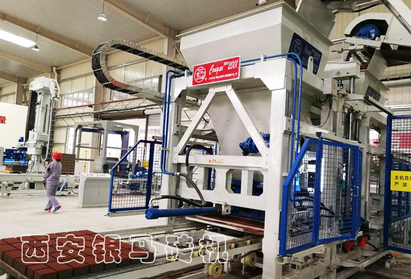 透水砖机设备生产线与众不同的生产体验从智能化开始!