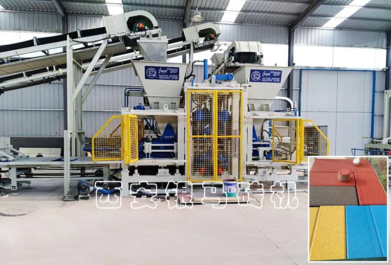 全自动路沿石生产设备:免烧砖机输出成品应满足实用和装饰两个属性