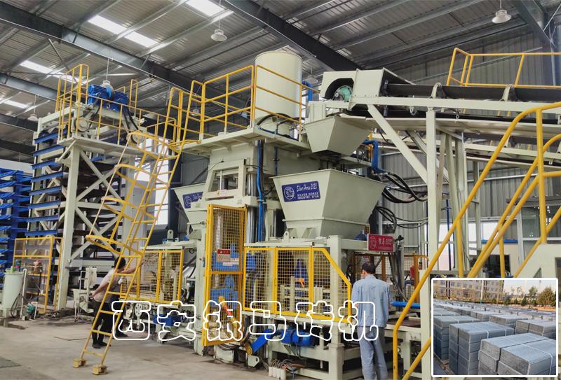 透水砖机:全自动路沿石生产设备能为循环经济做些什么?