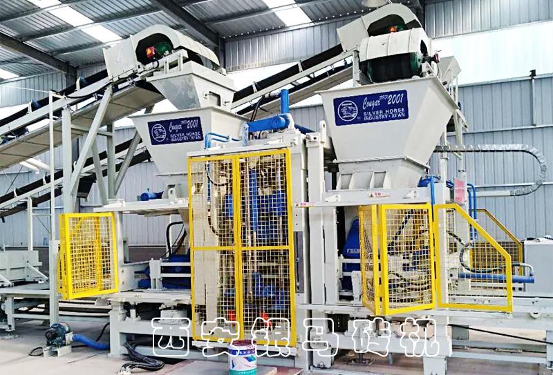 环保制砖机成套设备:水泥砖机为用户带来创新的意识和提升动能!