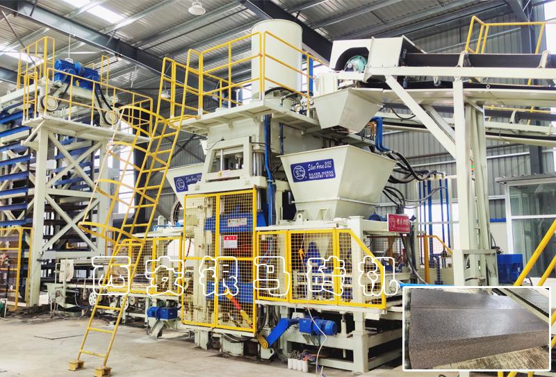 仿石路沿石设备:金沙9001mm平台助力生态都会建设!